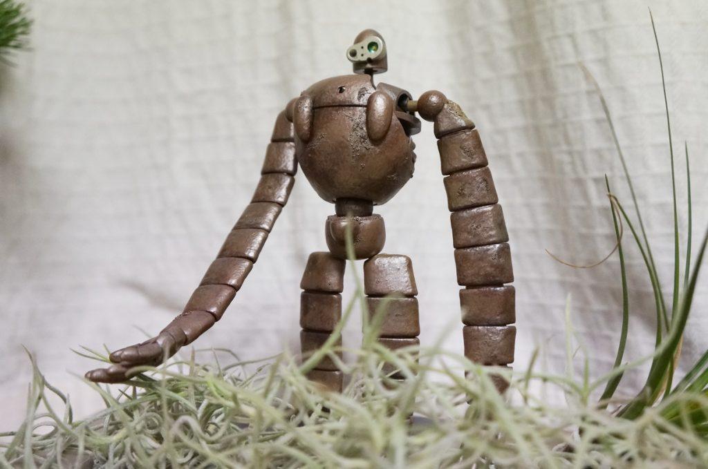 ラピュタ ロボット兵 苔なし