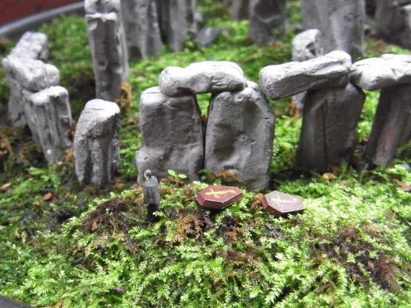 ストーンヘンジとドラクエ盆栽
