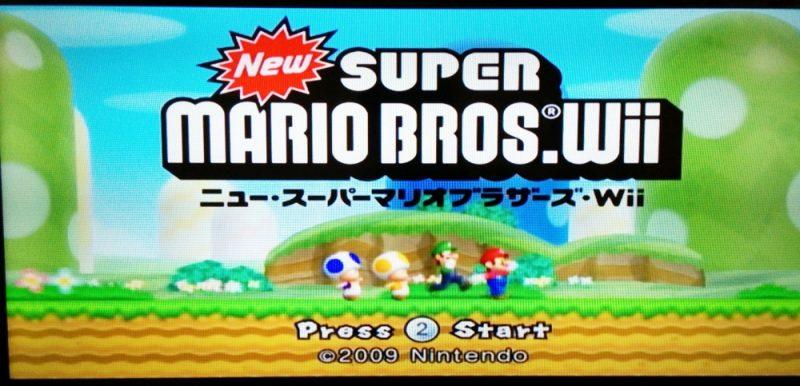 【名作】WiiのNewスーパーマリオが親子4人のパーティーゲームとして最高に楽しい。