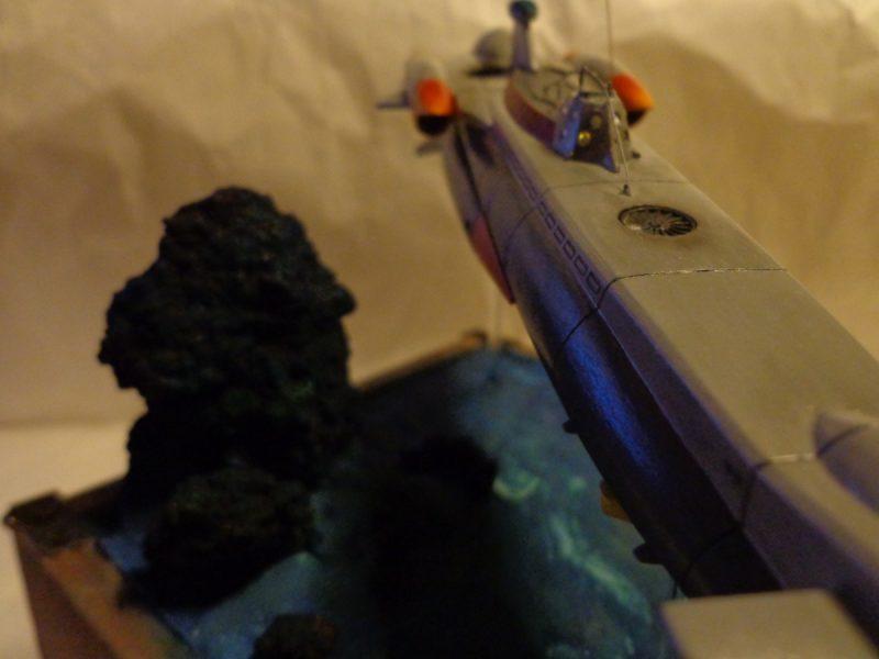 ふしぎの海のナディア ノーチラス号プラモ改造